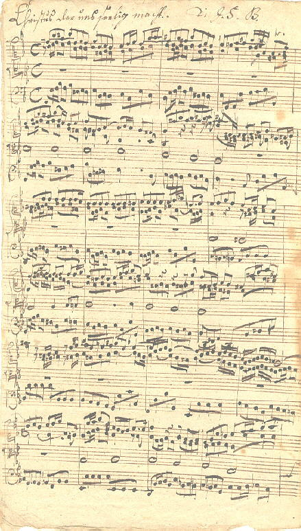 johann sebastian bach musical style The well-tempered clavier composed and made by johann sebastian bach bach's style went out of favour in the time around his death.